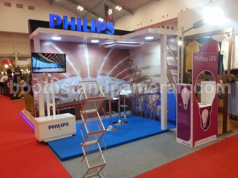 stand booth pameran 2